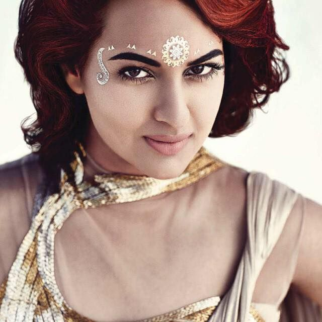 Sonakshi Sinha Poses for Bazaar Bride's Magazine June 2015