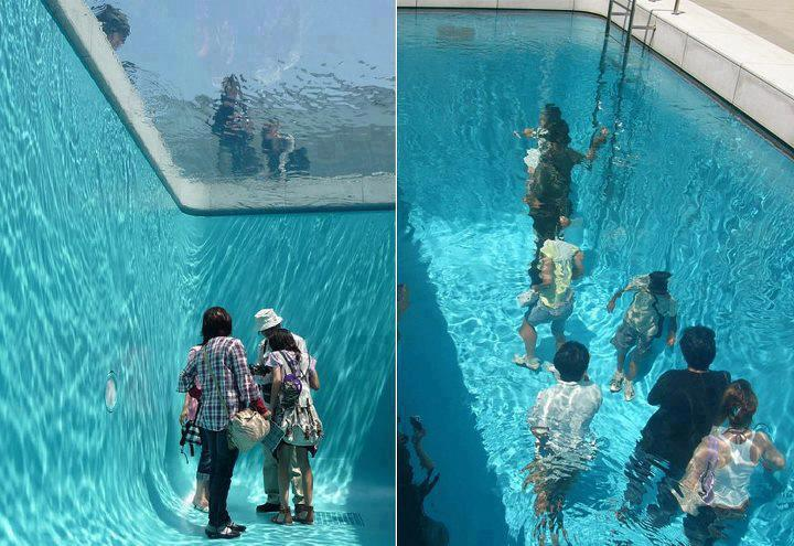 Amazing Japanese Fake Pool!