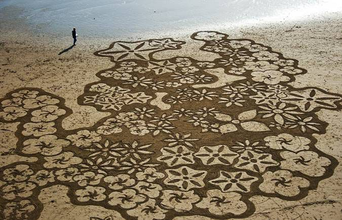 Coloring the Sand