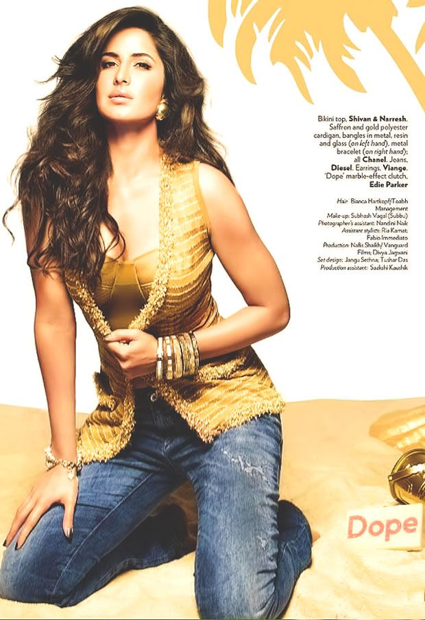 Katrina Kaif Photo Shoot For Vogue Magazine