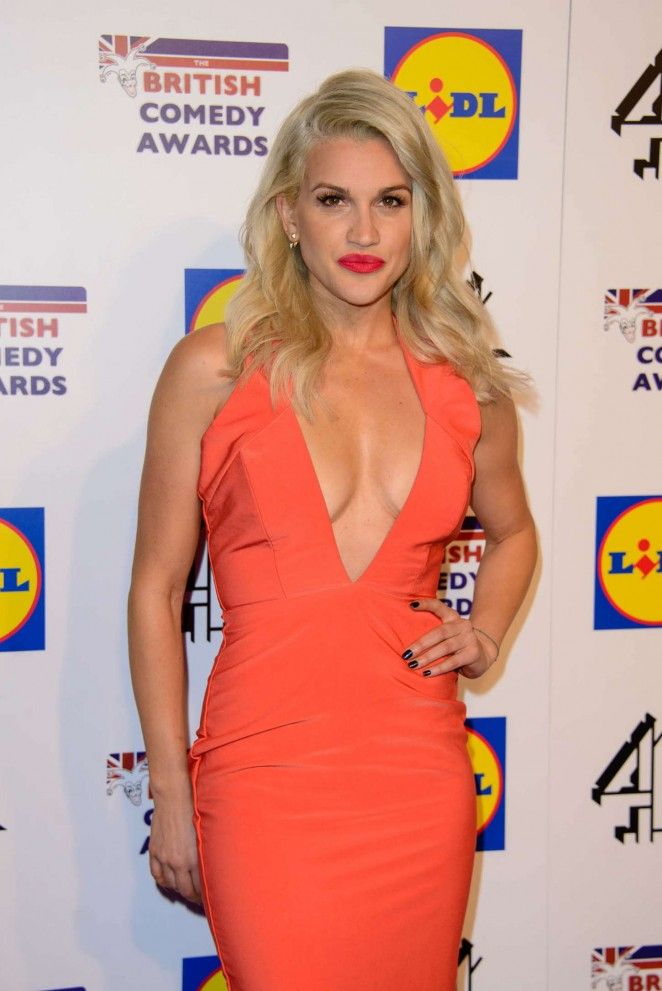 Ashley Roberts The British Comedy Awards 2014
