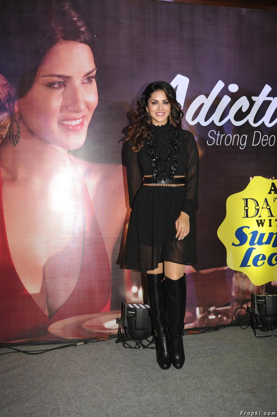Sunny Leone at Mankind Pharma's Adiction Deo Event