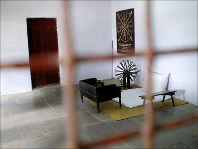Where Mahatma Gandhi's soul still lives
