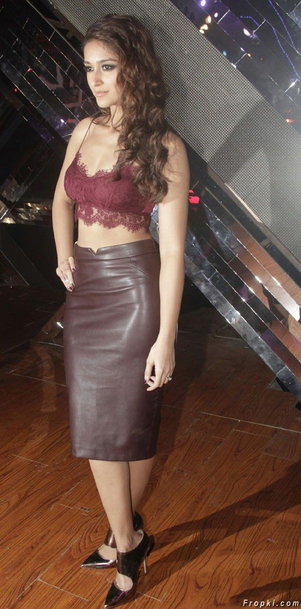 Ileana at Happy Ending Movie Promotions Photos