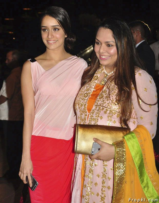 Shraddha Kapoor at Arpita Khan wedding reception