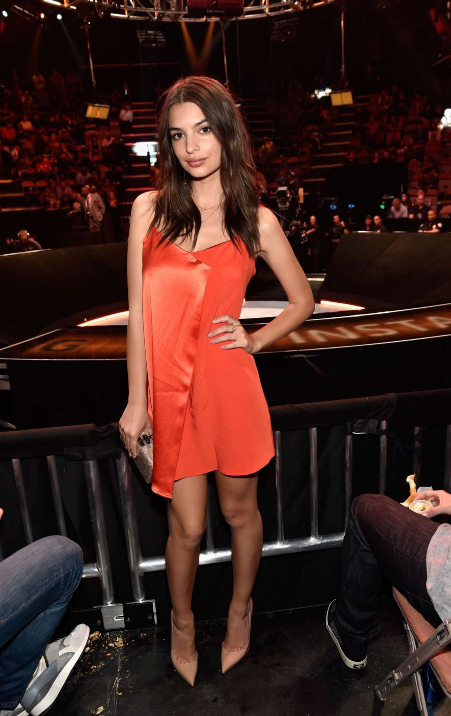 Emily Ratajkowski - BKB 2 Big Knockout Boxing in Las Vegas