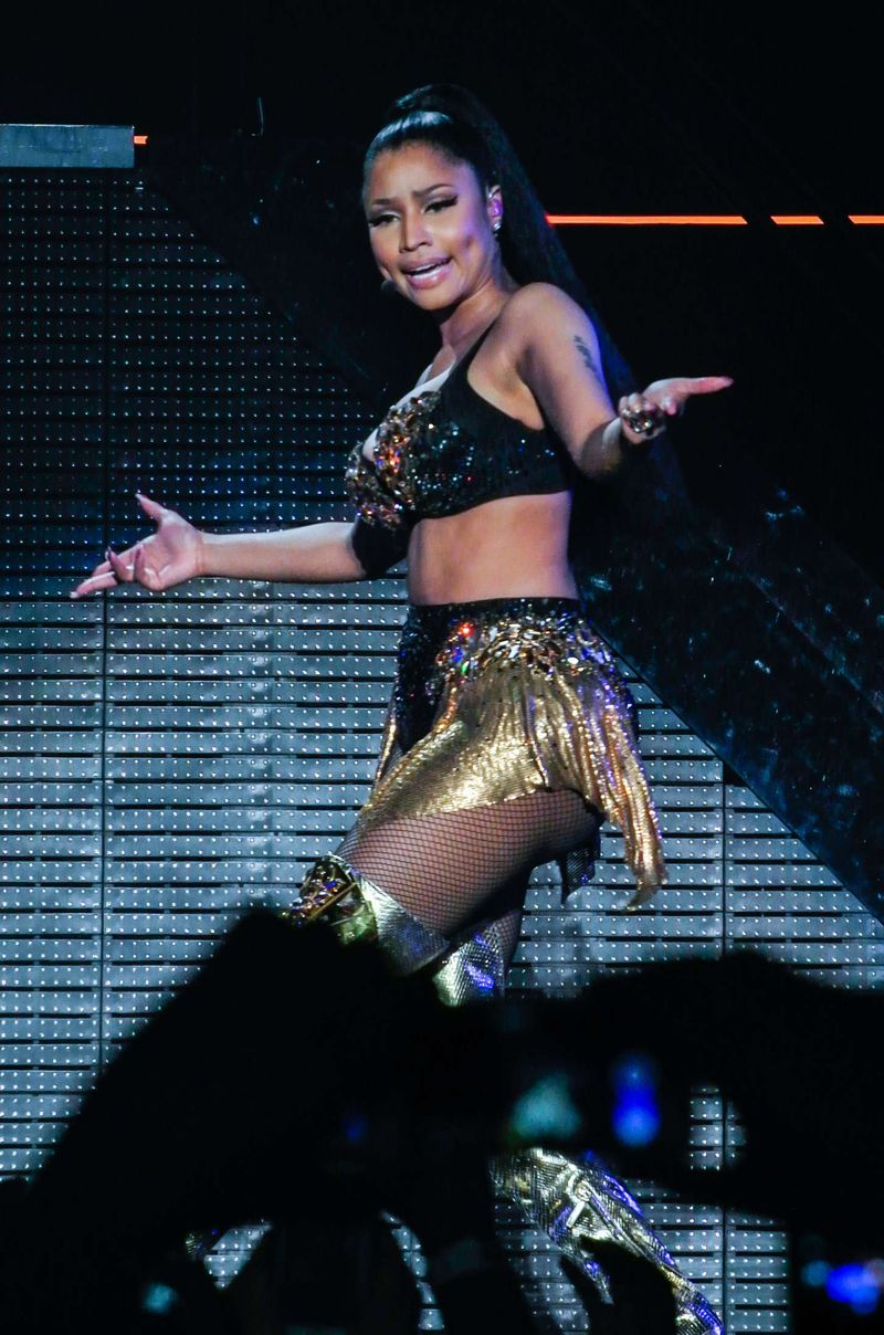 Nicki Minaj causes Jaws to Drop on her Birmingham Tour