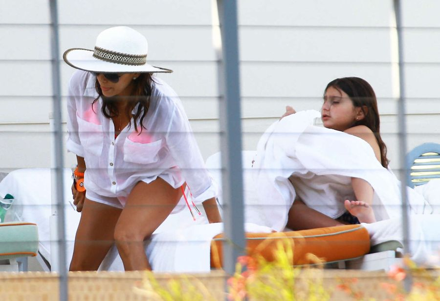 Eva Longoria at Poolside in Miami