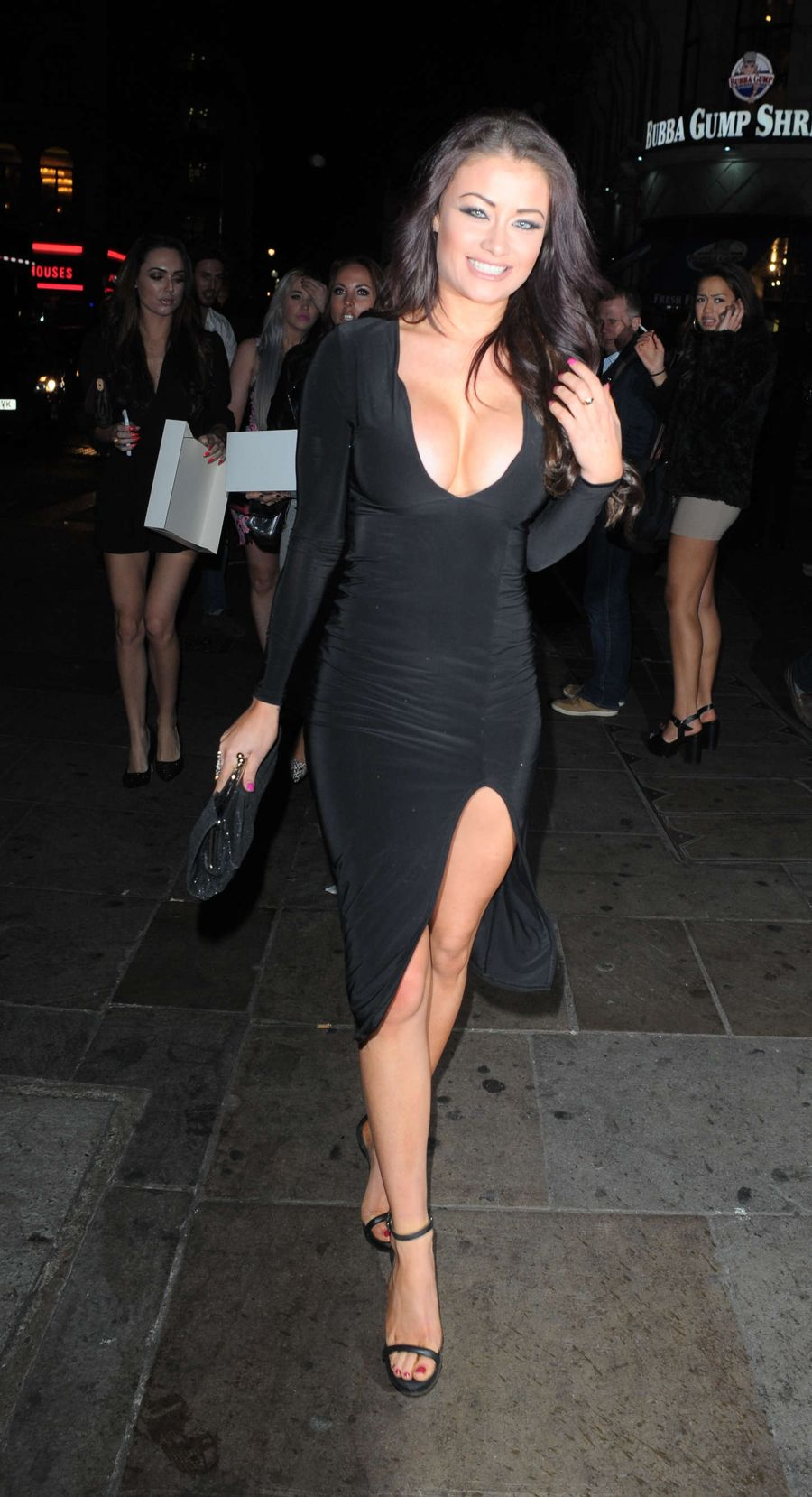 Jess Impiazzi - Celebrates Birthday at Cafe de Paris