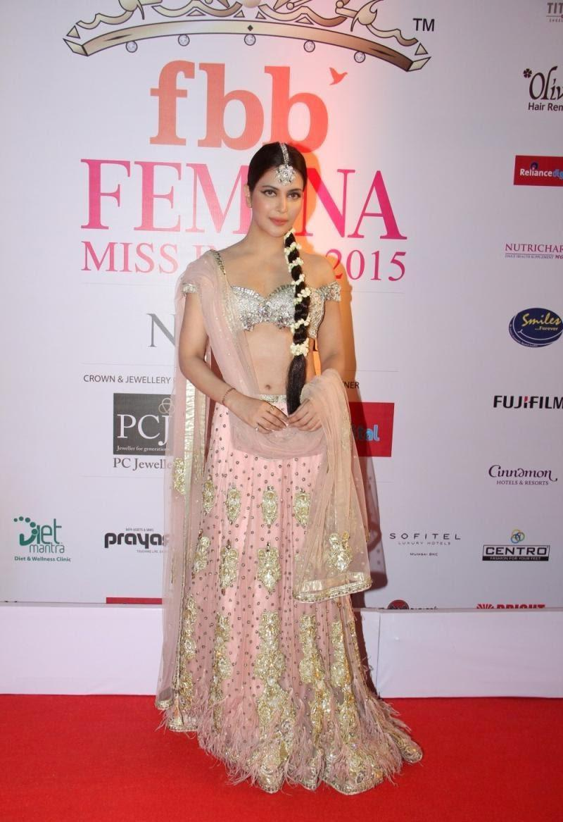 Ankita Shorey On Femina Miss India Red Carpet