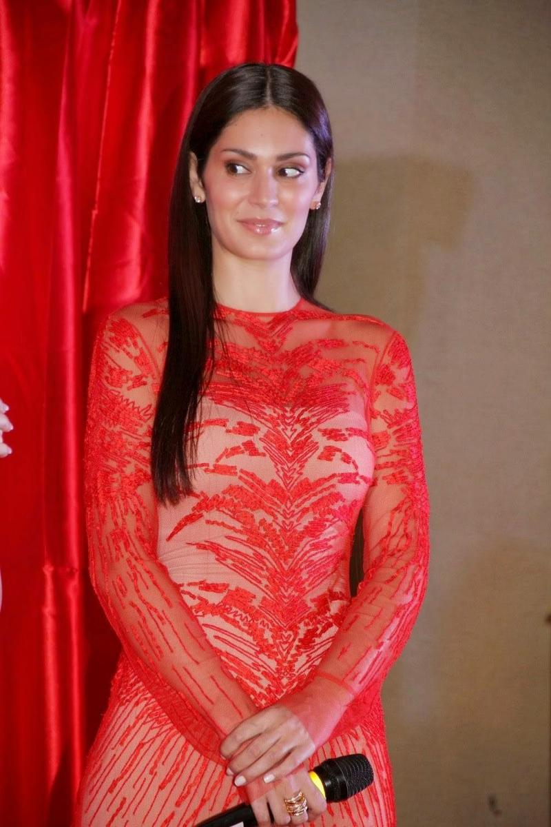 Bruna Abdullah Stills at Udan Choo Hindi Movie Music Launch