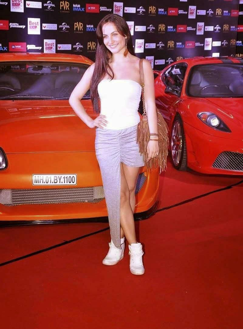 Elli Avram Spicy Stills at Fast and Furious 7 Premiere Show