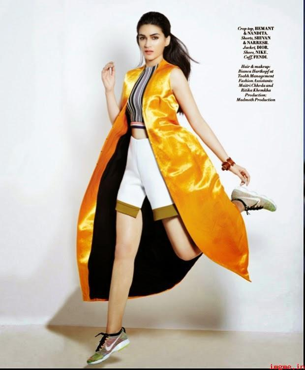 Kriti Sanon L'Officiel Magazine April 2015 Photos