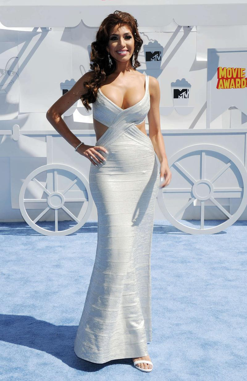 Farrah Abraham - 2015 MTV Movie Awards in LA