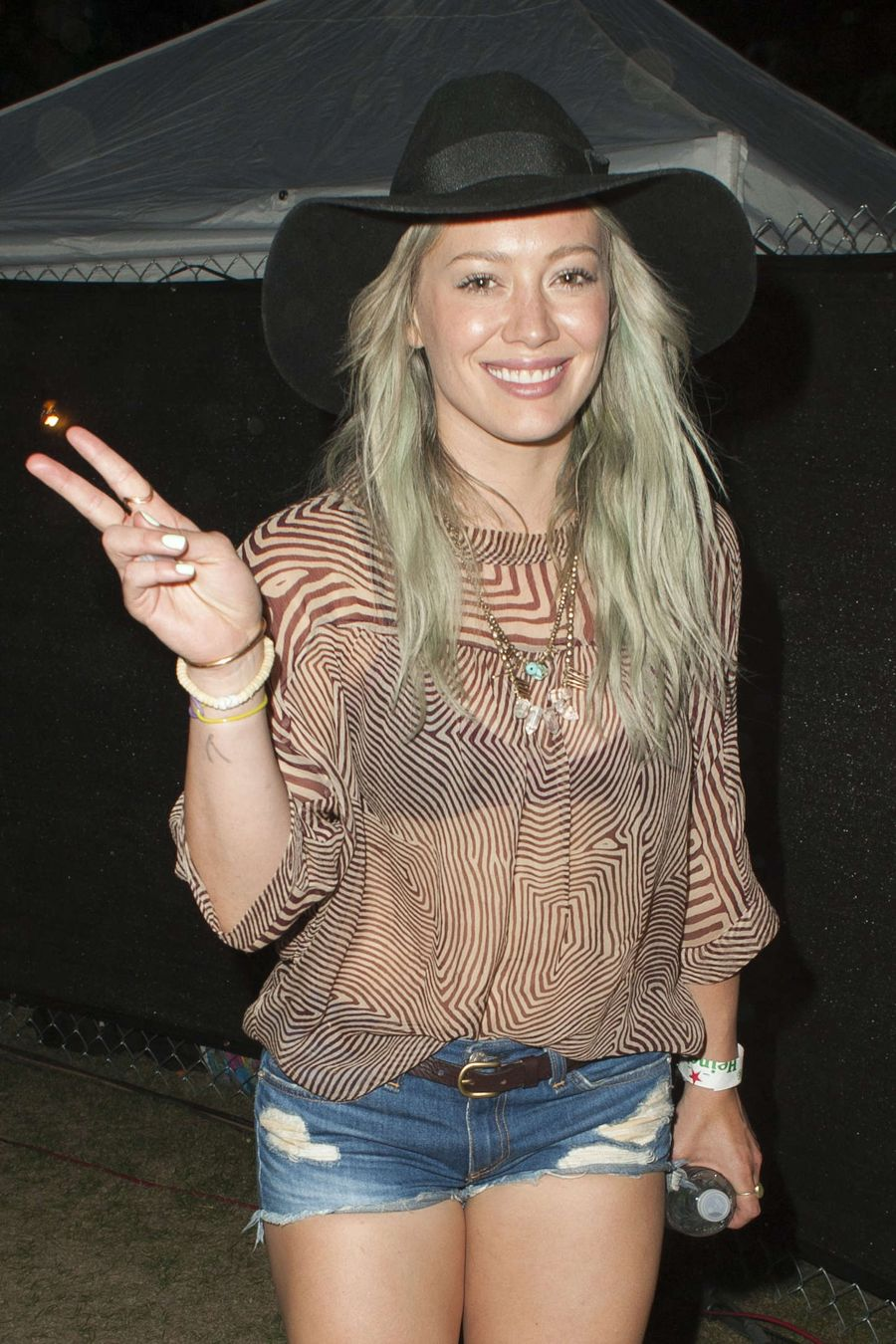 Hilary Duff - 2015 Coachella Music Festival
