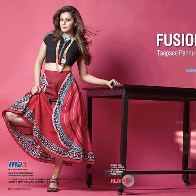 Taapsee Poses For Cineblitz 2015