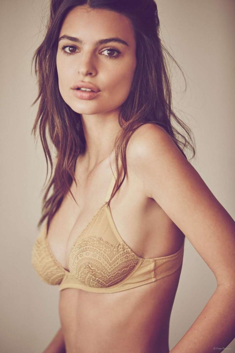Emily Ratajkowski Free People Lookbook 2015