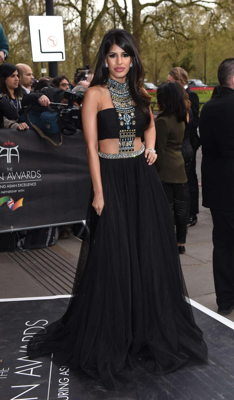Jasmin Walia Asian Awards 2015