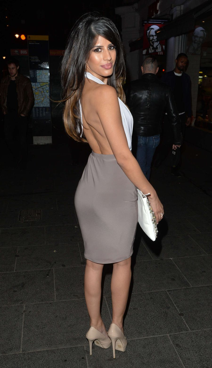 Jasmin Walia at Cafe de Paris in London