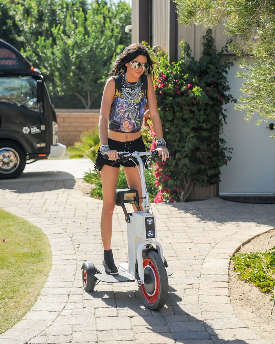 Kendall & Kylie Jenner Sizzle Coachella Pool Party