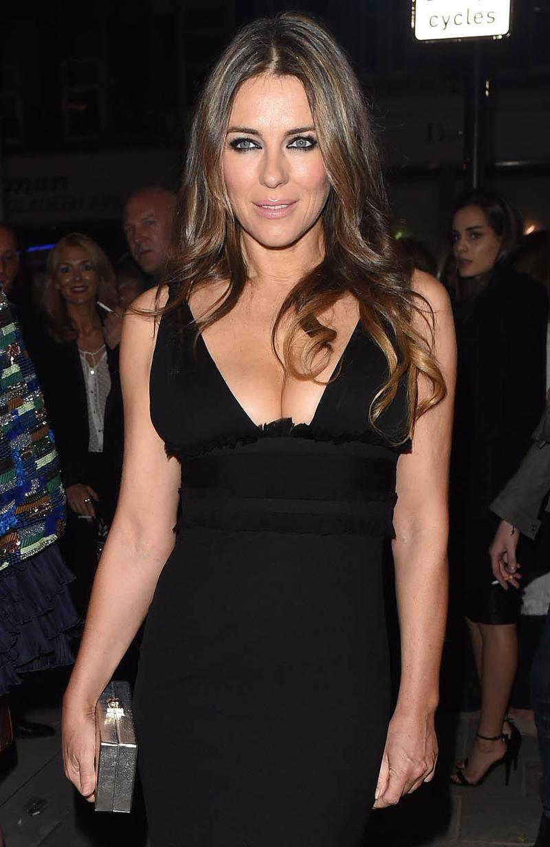 Elizabeth Hurley - Dsquared2 London Flagship Opening in Lond