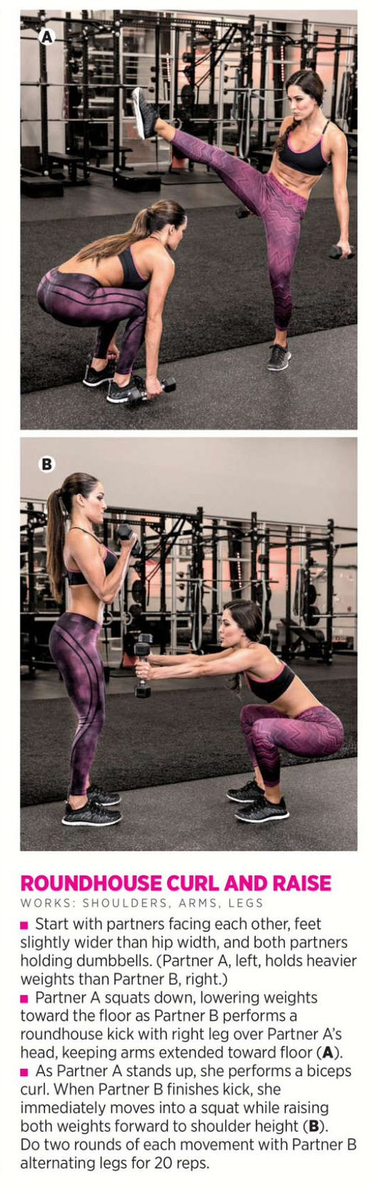 Brie & Nikki Bella - Muscle & Fitness Hers Magazine