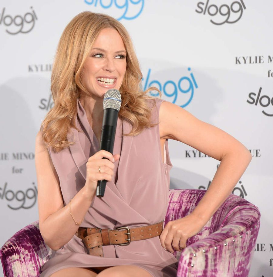 Kylie Minogue - Sloggi Lingerie in Berlin