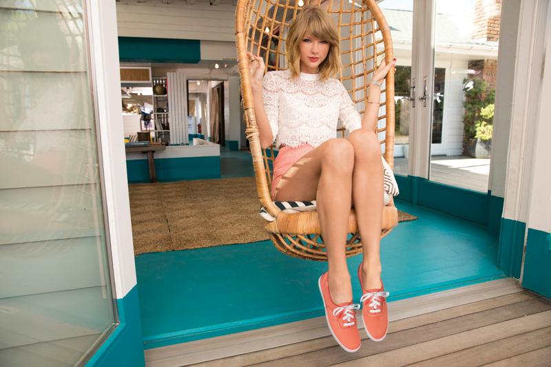 Taylor Swift And Keds Never Go Out Of Style