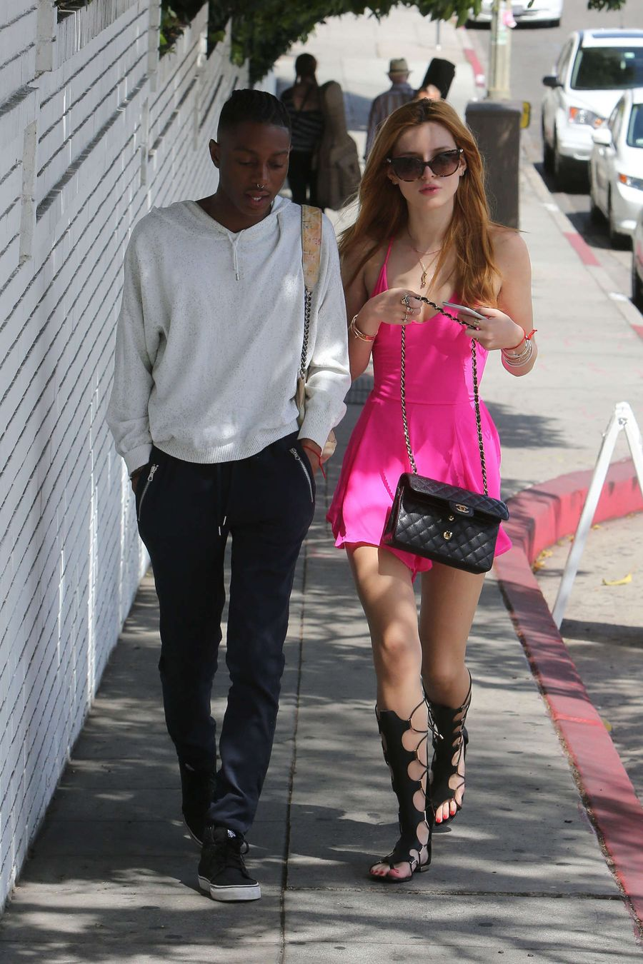 Bella Thorne - Leaving Chateau Marmont in Hollywood