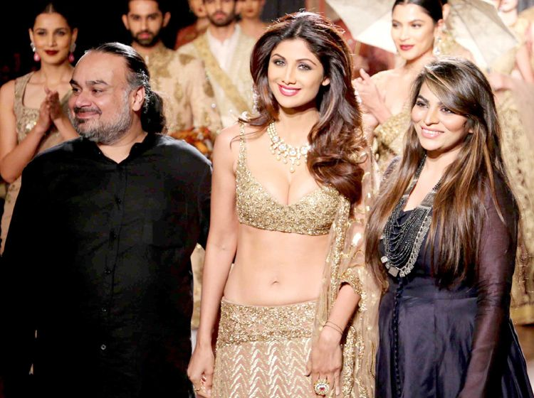 Shilpa Shetty's royal affair at AICW 2015