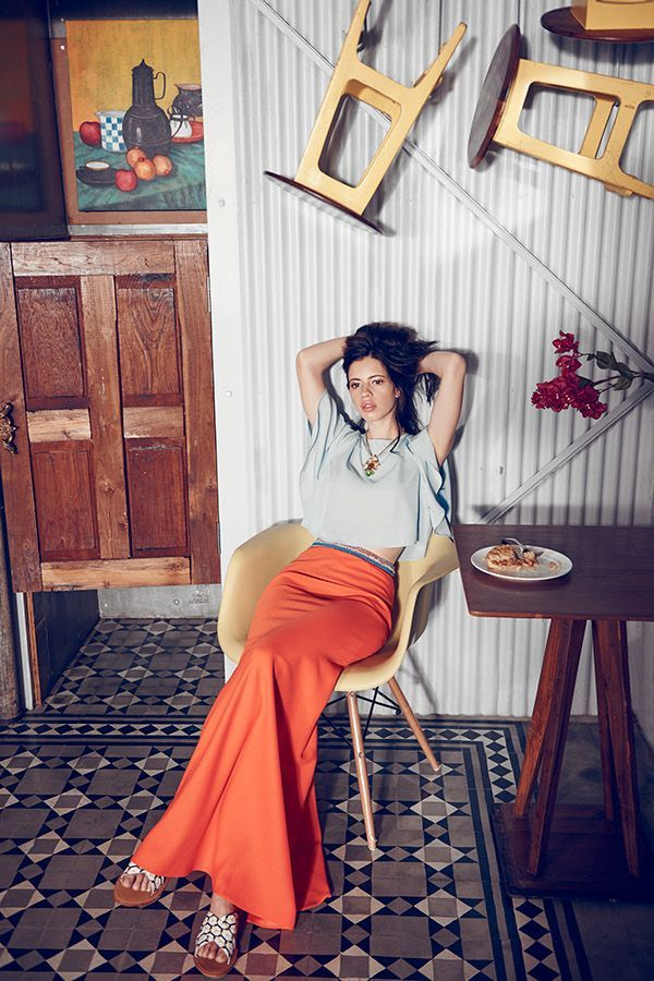 Kalki Koechlin Photoshoot for Elle Magazine August 2015