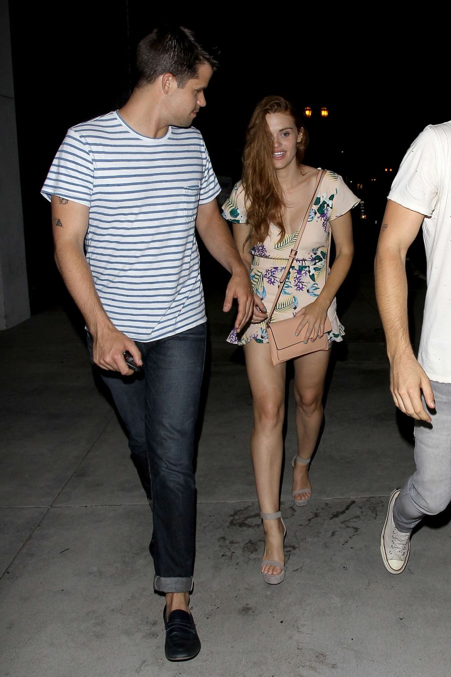 Holland Roden - Leaving Zelda Williams Birthday Party