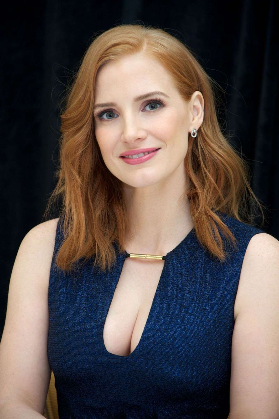Jessica Chastain - Press Conference at the Ritz Carlton