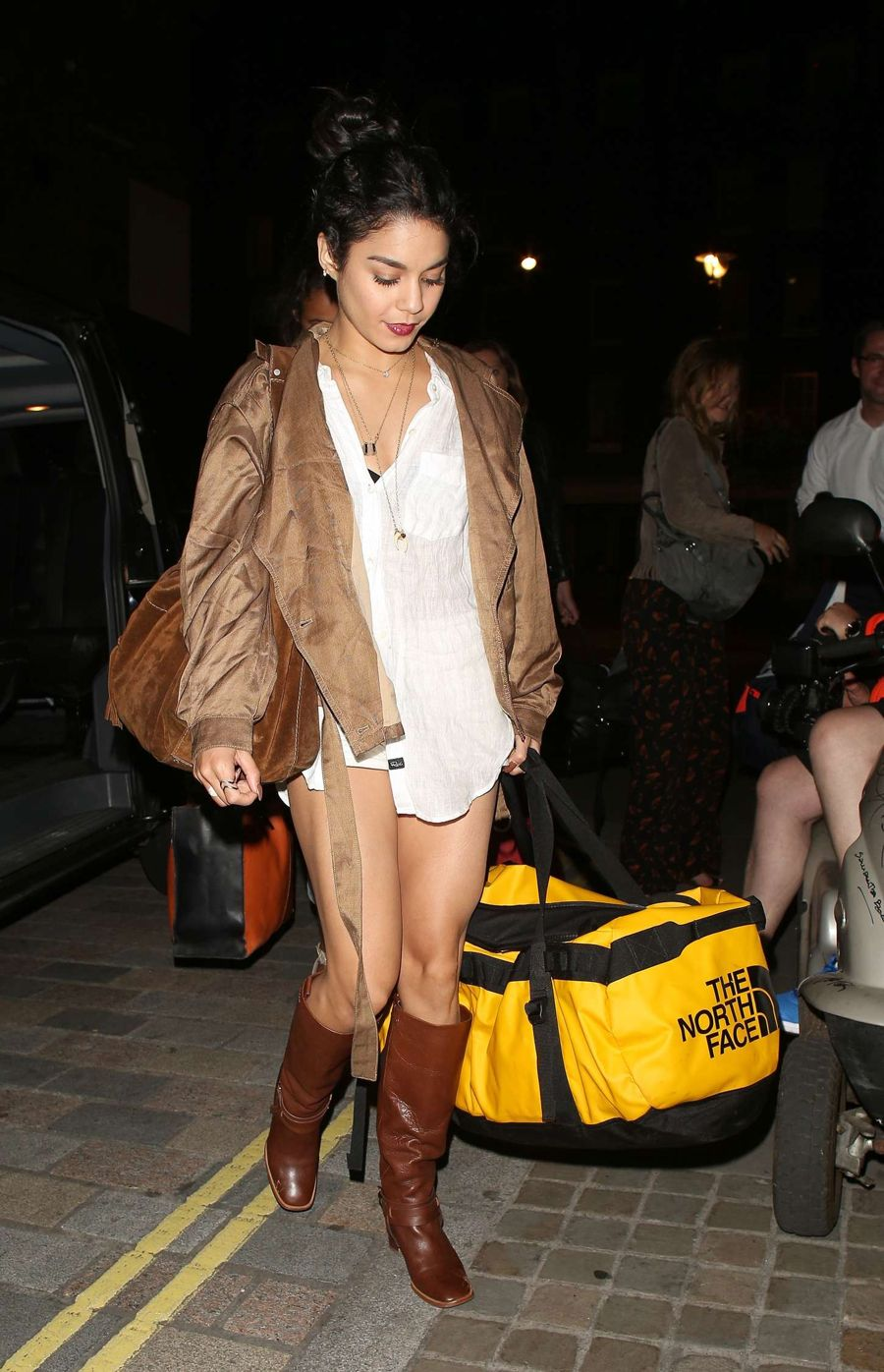 Vanessa Hudgens at Chiltern Firehouse in London