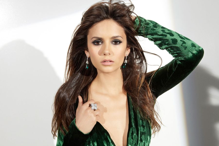 Nina Dobrev by Steve Erle Shoot for Ocean Drive