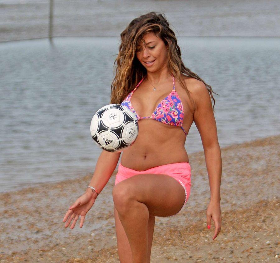 Pascal Craymer on the beach in Essex