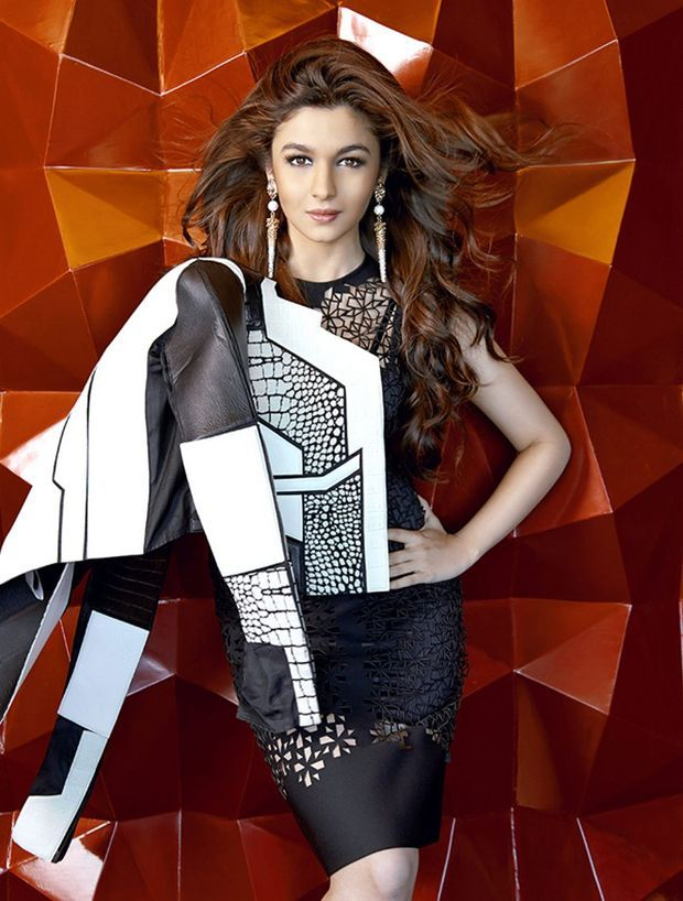 Alia Bhatt Poses For The Man Magazine