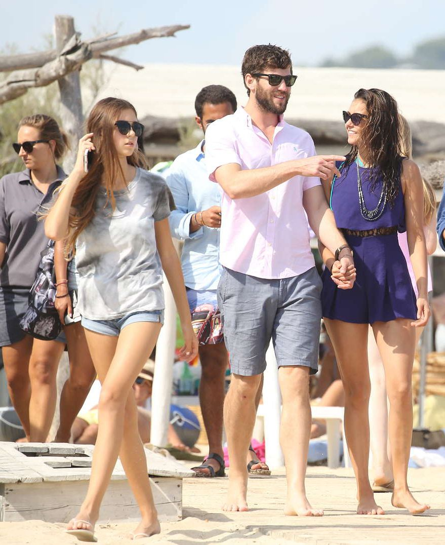 Nina Dobrev seen with Boyfriend On beach in St. Tropez