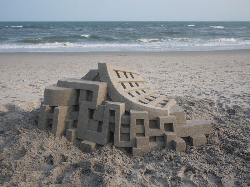 Most Geometric and Unqiue Sand Castles
