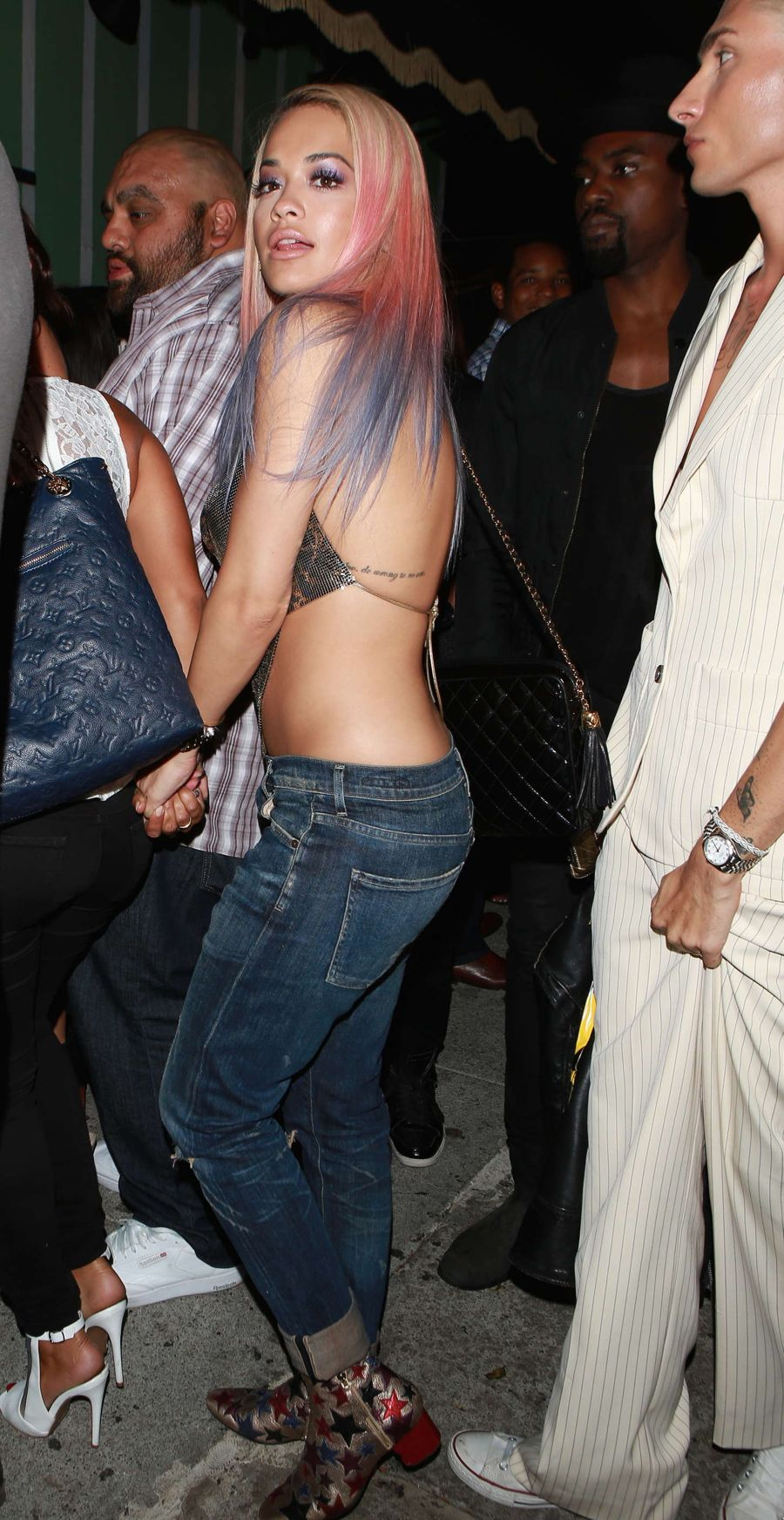 Rita Ora - Warwick Nightclub in Hollywood