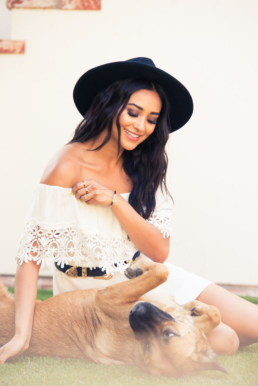 Shay Mitchell - The Coveteur 2015 Photoshoot