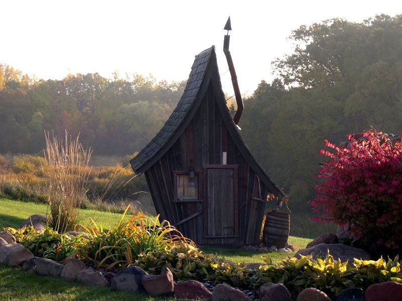 Amazing Little Cabins You Find in a Fantasy Novel