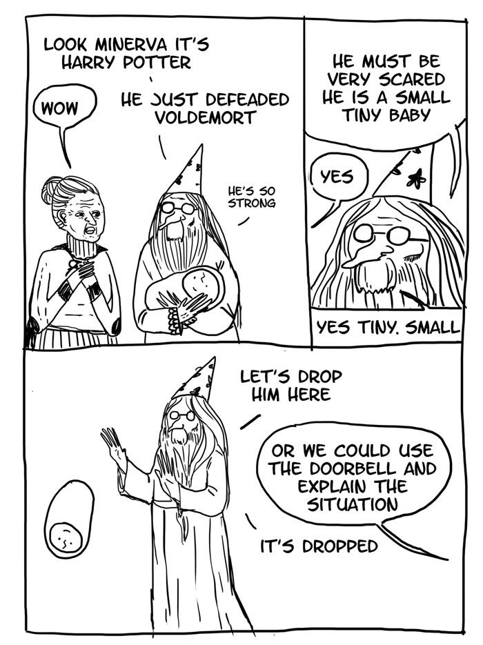 Comics Reveal How Irresponsible Dumbledore Was