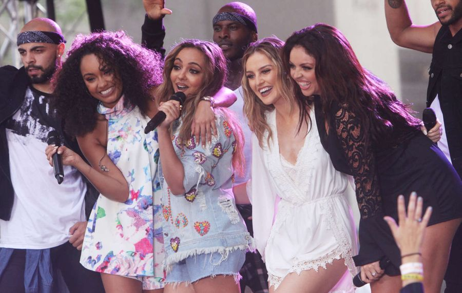 Little Mix - Performing on the 'Today' Show in NYC