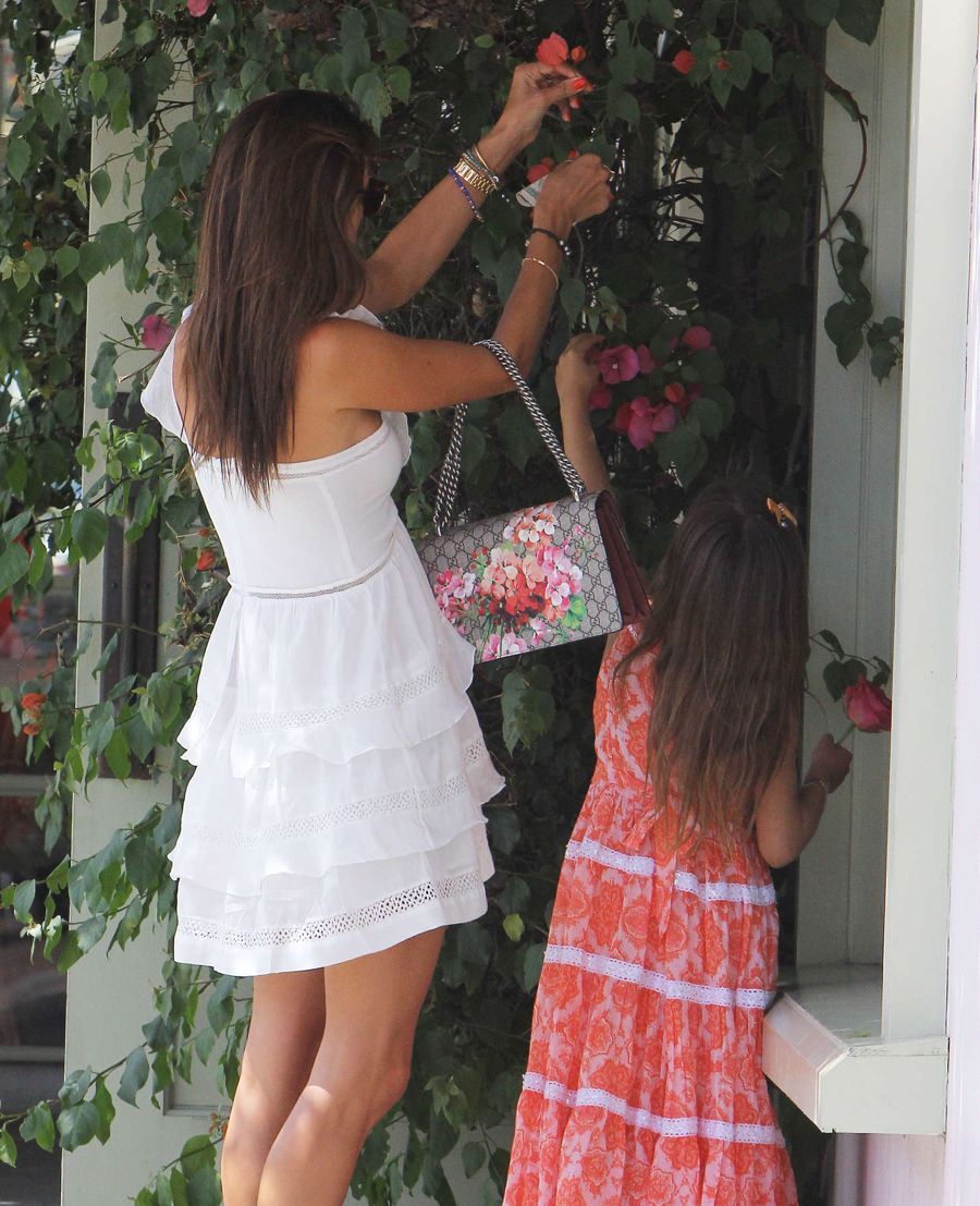 Alessandra Ambrosio - Lunch at The Ivy in Santa Monica