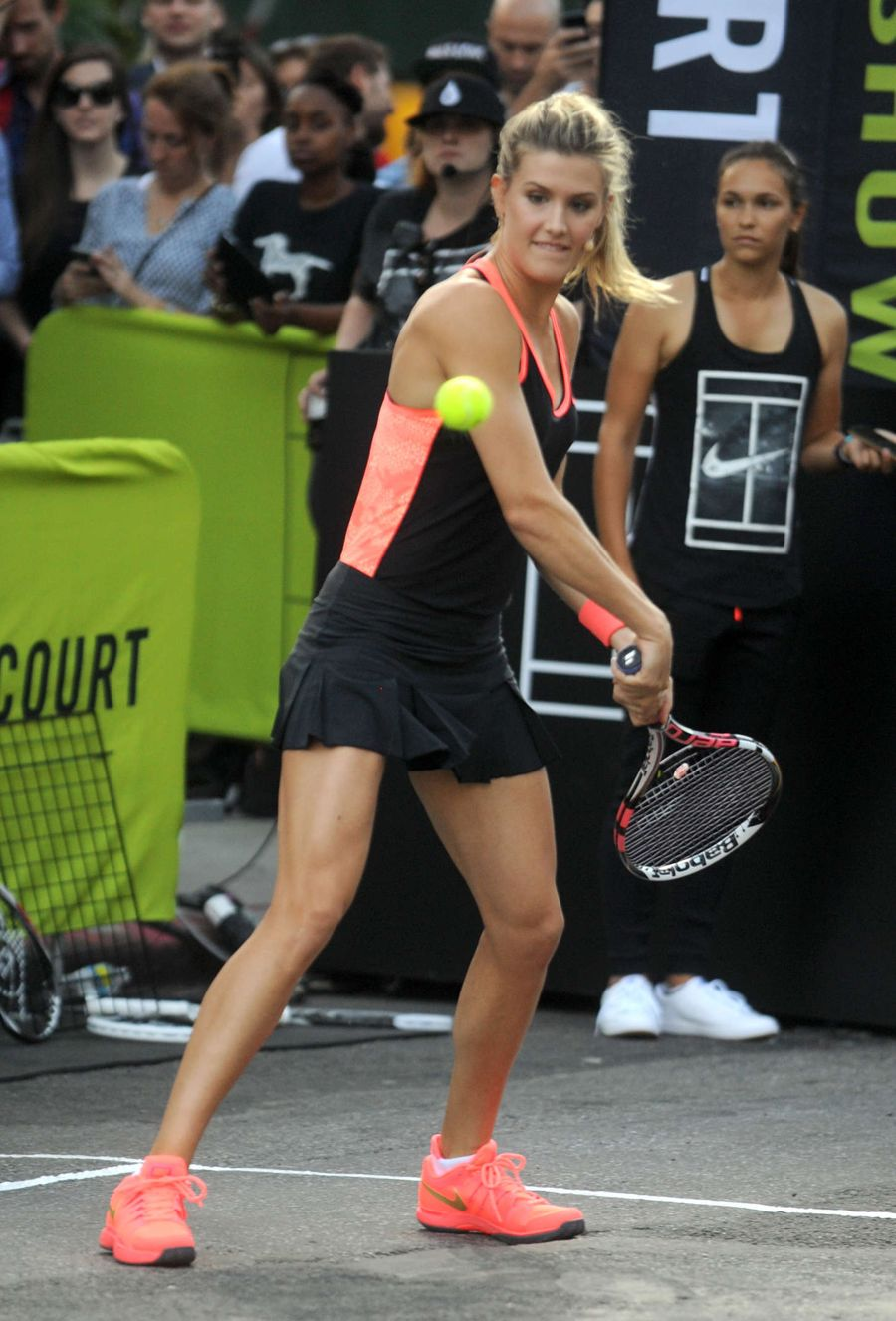 Eugenie Bouchard - Nike's 'NYC Street Tennis' Event in NYC