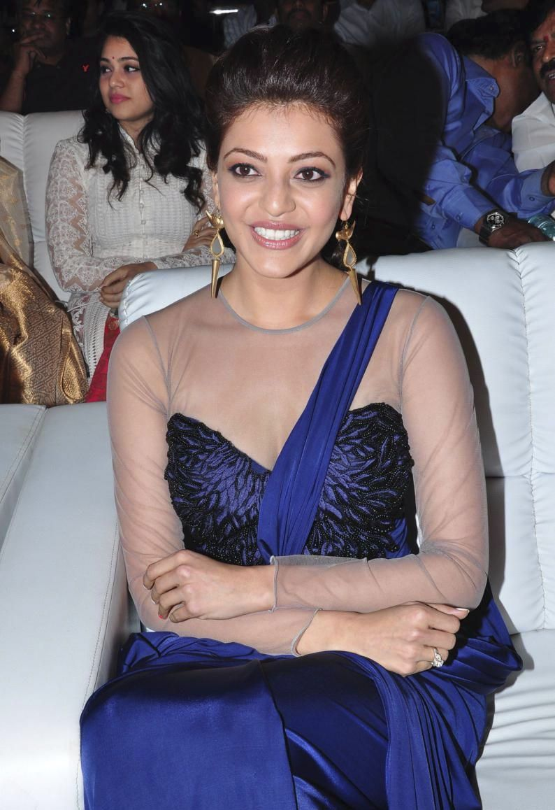 Kajal Agarwal Stills at Jayasurya Audio Launch
