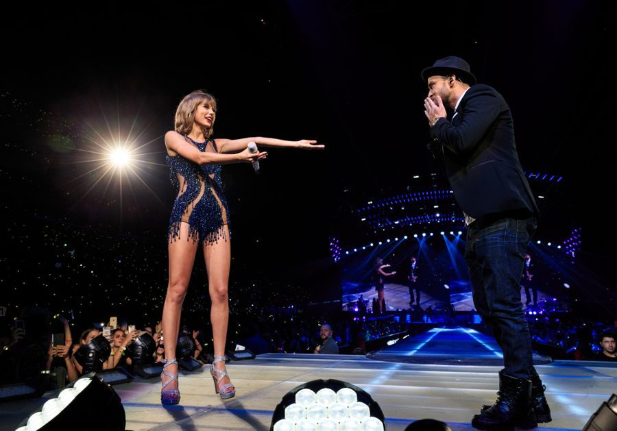 Taylor Swift and Selena Gomez - Performs at World Tour