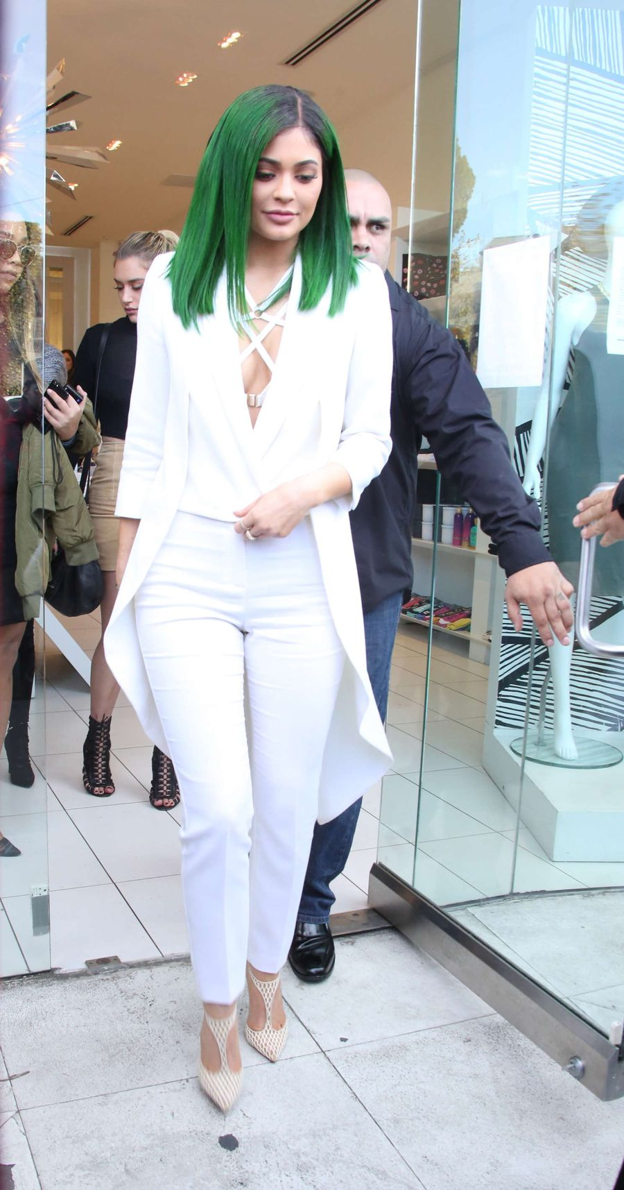 Kylie Jenner at the Dash Store in LA