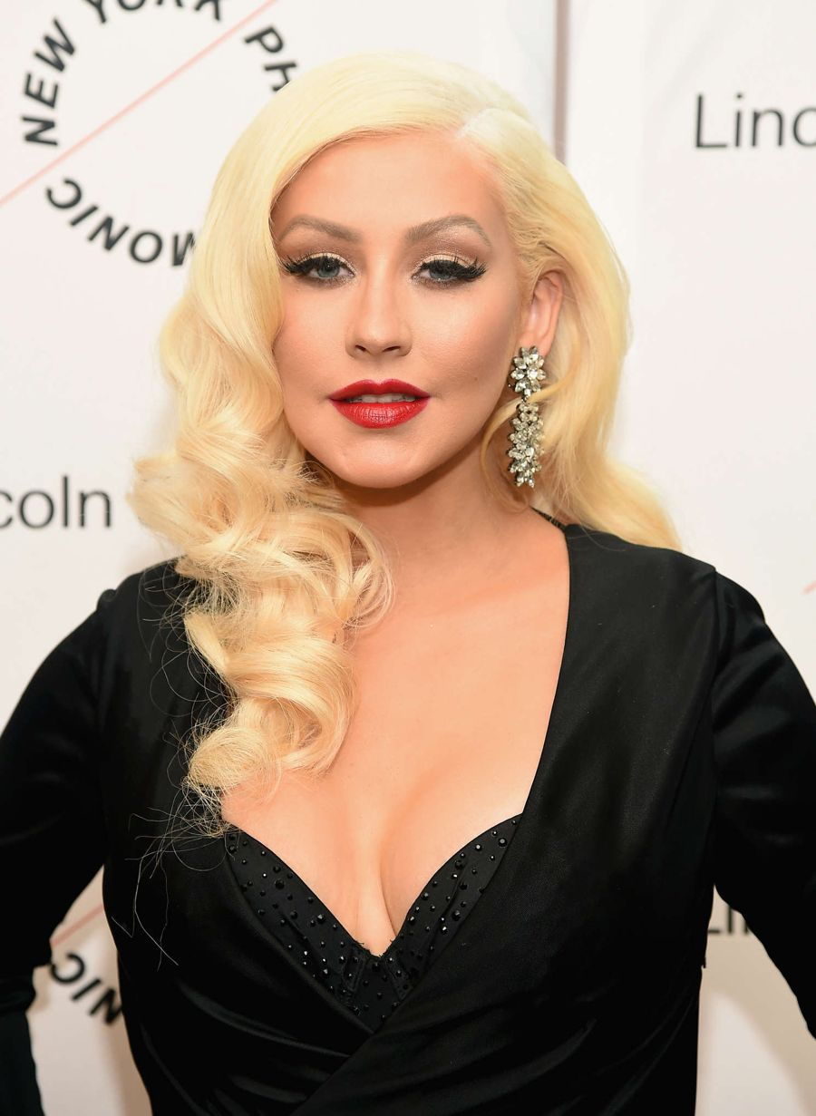 Christina Aguilera - Sinatra Voice for a Century Event